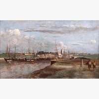 015 | COROT Jean Baptiste Camille, DUNKERQUE : L´ARRIERE PORT