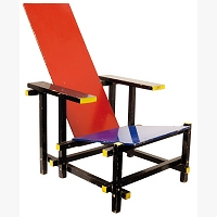 268 | RIETVELD Gerrit Thomas  - okruh: RED AND BLUE CHAIR