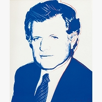 130 | WARHOL Andy: EDWARD KENNEDY