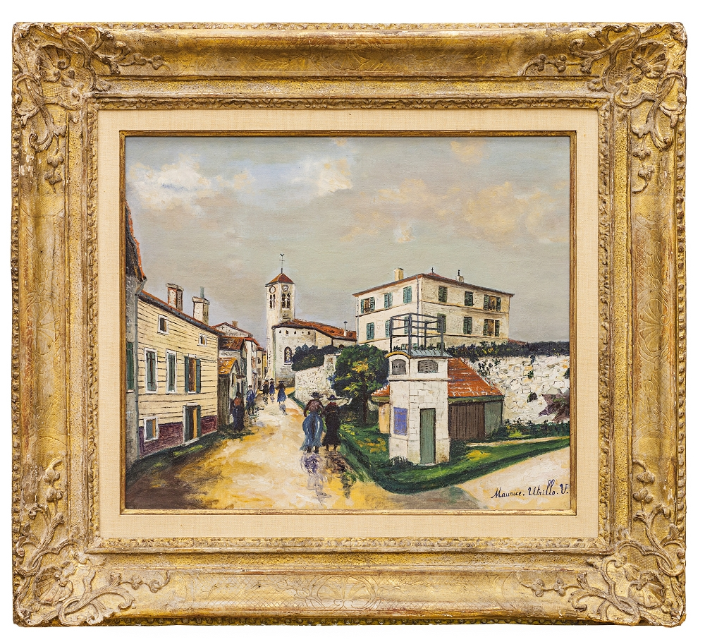 UTRILLO Maurice: PAYSAGE À LUCENAY