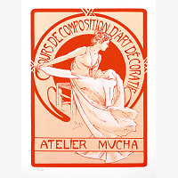 196 | MUCHA Alfons: COURS DE COMPOSITION D´ART DECORATIF – NAVRH PLAKATU